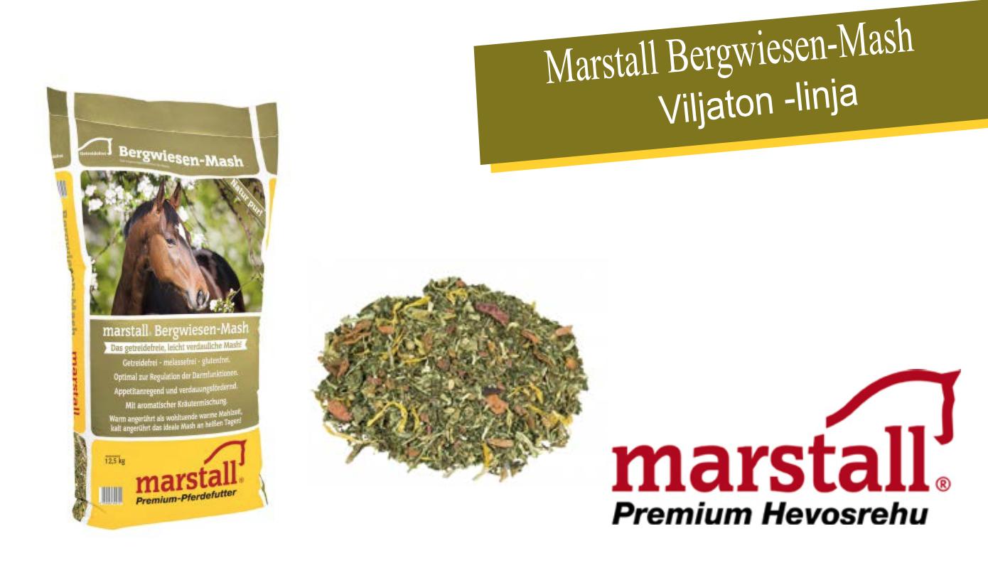 Marstall Bergwiesen-Mash – viljaton sekä melassiton Mash